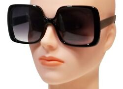 NWT Women Oversized Sunglasses Vintage Jackie O Fashion Style Square Frame $9.50