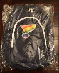 St. Louis Blues Theme Pride Night Backpack 2/12/19