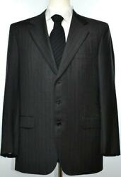 Brioni Mens Traiano 3-BTN Superfine Wool Suit Size 42 52 R NEW $5200