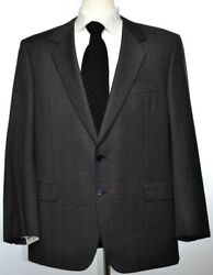 Brioni Mens Traiano Gray 2-BTN Wool Suit Size 46 56 R NEW $5000