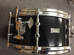 Original Billy Gladstone 6x14 Snare Drum in Black Lqr with Chrome Hardware  WOW!