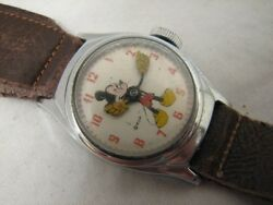 Early Timex Mickey Mouse Wrist Watch Wdc Ladies Childs
