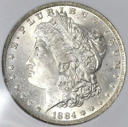 1884-o Ngc Ms 63 Morgan Silver Dollar New Orleans Mint Coin 19042201c