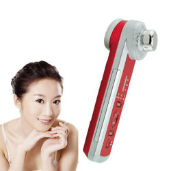 4in1 Photon Ultrasonic LED Electric Facial Physical Massage Body SPA Skin Smooth