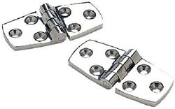 Two2 Pair Boat Door Hatch Hinges.316 Stainless Steel 1-1/2x4 Seachoice 34111