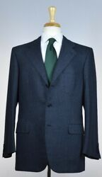 Brioni Mens And039palatino 21and039 3-btn Fleece Wool Suit 38 /48 R New 7500 Classic-fit