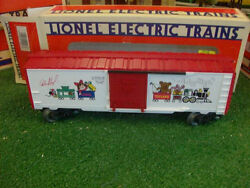 Lionel Trains No. 19928 1994 Autographed Christmas Boxcar - Very Nice