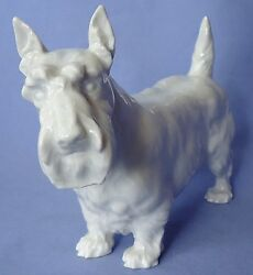 MEISSEN SCOTTISH TERRIER SCOTTY DOG GERMANY 7