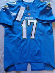 2014 San Diego Chargers Philip Rivers 17 Nfl Nike Game Issued Size 50 Authentic