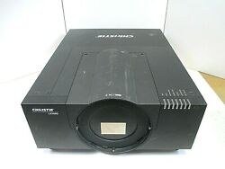 Christie Lx1000 3-dlp Projector, 10000 Lumens Dual Lamp Projector Sold As Is