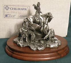 Chilmark Pewter Chief Joseph Registered Edition 3332 By Don Polland