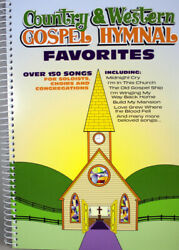 Country And Western Gospel Hymnal Favorites New Spiral Paperback 150+ Songs Choirs
