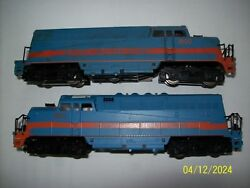 Chicago And Eastern Illinois Bl Locos Pair Powered 1600