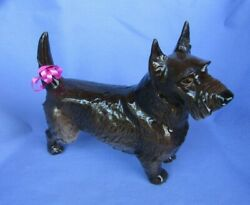 black SCOTTISH TERRIER Nymphenburg Scotty dog 9