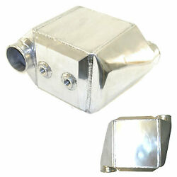 Massive Liquid To Air Intercooler 17x12.25x9 4 Opposite Inlet/outlet