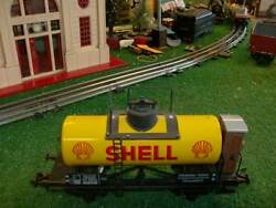 Ets Tin Plate Shell Tank Car C8ln Condition 1980s Outstanding Detail Sharp