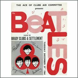 The Beatles For Brady 1964 Hammersmith Odeon Concert Programme Uk
