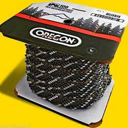 100 Ft Roll Oregon 73jgx100 Skip Tooth Chisel Chain3/8 Pitch.058 Gauge