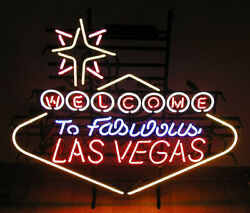 Welcome To Fabulous Las Vegas Neon Sign Brand New
