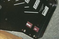 Nos 200 Kmh Speedometer 71 72 Ford Custom Galaxie Ltd Convertible Country Squire