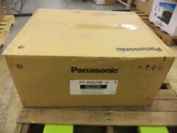 Panasonic PT-RZ670BU 1-Chip 6500 Lumen Laser Light Source DLP Projector (Black)