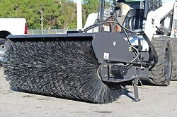 Sweepster 7' Sweeper fits All Skid Steer LoadersPolyWire BrushShips In 3 Days
