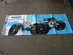 New Ford Muscle Parts Vinyl Banner 68x27 Mustang Fairlane Torino Cobra Gt 5.0l