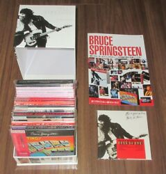 Bruce Springsteen Japan Mini Lp Card Sleeve Cd X 17 + Promo Box, Cover And More