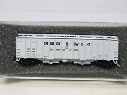 Delaware Valley Church And Dwight 50' Airslide Hopper 48240 N Scale