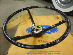 Nos 1956 1957 Ford Thunderbird Steering Wheel In Ford Box