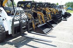 Pallet Forks by Bradco fits all Skid SteersRated4000 Lb48