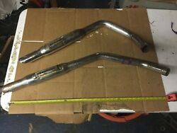 Set Of Two Motorcycle Exhaust Pipes - Used - Harley Davidson