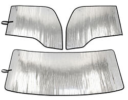 Kenworth T680 Windshield Sunshade Set - Front And Sides - 2013-2021