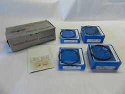 1941-1948 Full Set American Hammered Piston Rings 199 Std. 3.3 Bore 6 Cyl Ford
