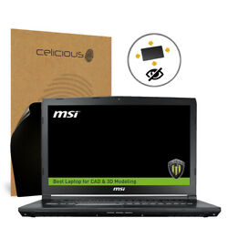 Celicious MSI Workstation WE72 7RJX 360° Privacy Screen Protector