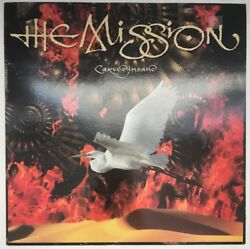 THE MISSION CARVED IN SAND LP MERCURY UK 1990 NEAR MINT FAST DISPATCH