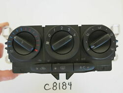 10 11 12 MAZDA CX-7 CX7 CLIMATE CONTROL PANEL TEMPERATURE UNIT HVAC OEM C8184