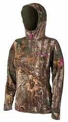 New Scentlok Womens Wild Heart Hi-tech Hunting Hoodie Realtree Xtra Pink 5117l