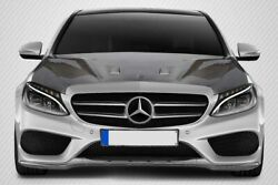 Carbon Creations Black Series Hood Body Kit for 15-20 Mercedes C Class W205