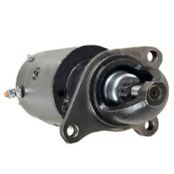 New 12v Starter Fits Allis Chalmers Tractor D19 6-262 Gas 1961 1962-1964 1107235