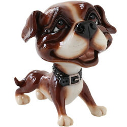 Little Paws quot;Stanquot; Staffy Staffordshire Terrier Pitbull Dog Figurine 4.5quot; High