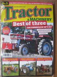 Tractor And Machinery December 2018 Massey Ferguson Mf35 240 Ford County Calendar