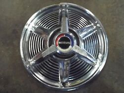 14 Wheel Cover/deluxe Spinner Hub Cap 1965 Mustang Coupe Convertible Fastback-f