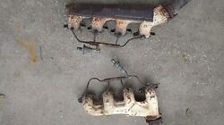 Big Block Chevy Exhaust Manifolds Factory With Smog Tubes 1965-74 329225