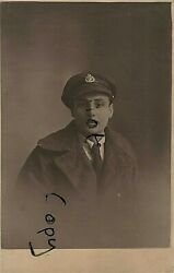Ww1 Wounded Soldier In Hospital Blues And Greatcoat Rifle Brigade