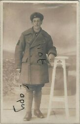 Ww1 Airman Petty Officer Wm Mills Rnas Royal Naval Air Service In Greatcoat