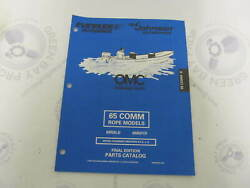 439306 Omc Evinrude Johnson 65 Hp Comm Rope Outboard Parts Catalog 1998