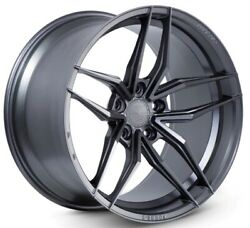 20x10f/20x11r Ferrada Forge8 Fr5 5x114.3 +25/28 Matte Graphite New Rims Set 4