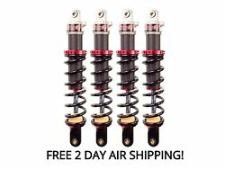 Elka Stage 2 Front And Rear Shocks Suspension Kit Yamaha Grizzly 660