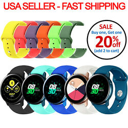 Replacement Silicone Band Strap Soft For Samsung Galaxy Watch SM R810 R815 $3.99